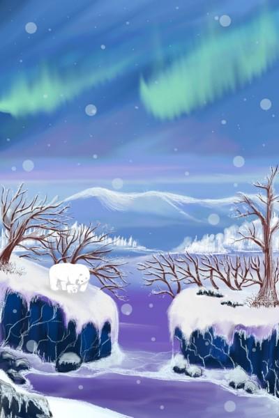 North Pole | Dex.R | Digital Drawing | PENUP