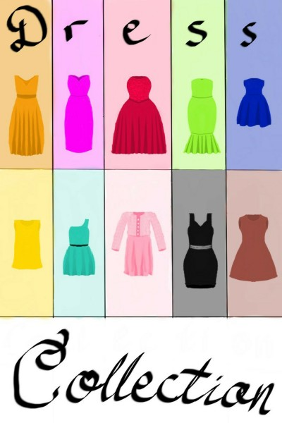 ~dress collection~ | Amelie_Sch | Digital Drawing | PENUP