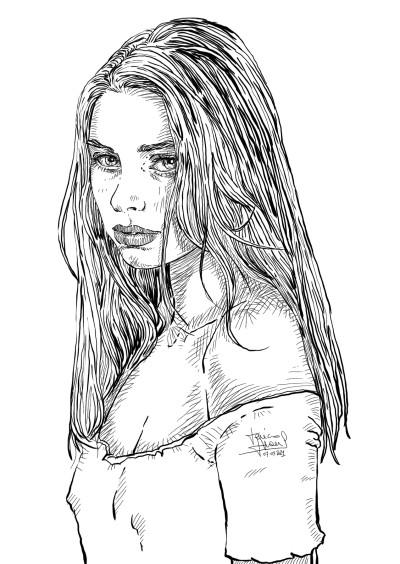 Fashion Digital Drawing | jericojhones | PENUP