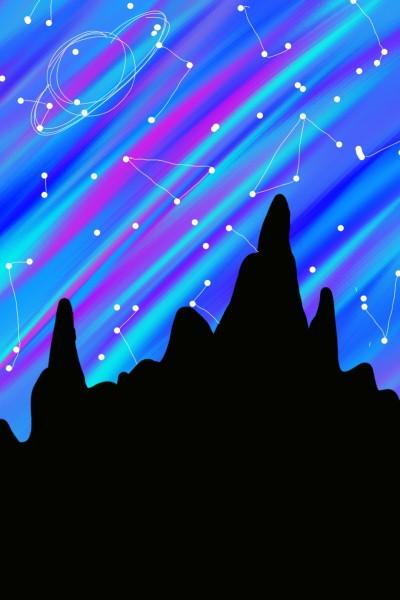 Space | Galaxy | Digital Drawing | PENUP