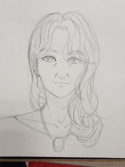 멋진 할머니를 그려보았어요   choeun   Digital Drawing   PENUP