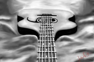 The Guitar | JennD | Digital Drawing | PENUP