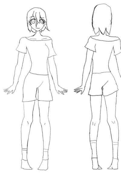 kinako Hysa final design, body | madmanga | Digital Drawing | PENUP
