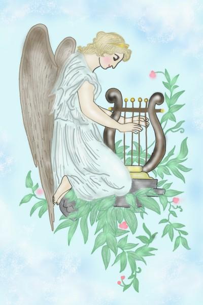 Angel of peace ♡   Sylvia   Digital Drawing   PENUP