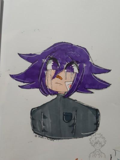 Pregame Kokichi :3   Dxspair.Bxbble   Digital Drawing   PENUP