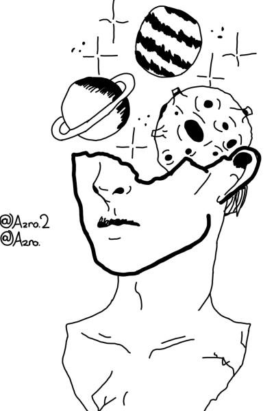 Abstract art Digital Drawing | Azra. | PENUP