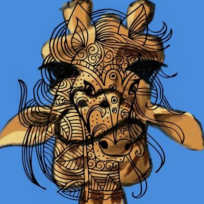 giraffe | J-O-C | Digital Drawing | PENUP