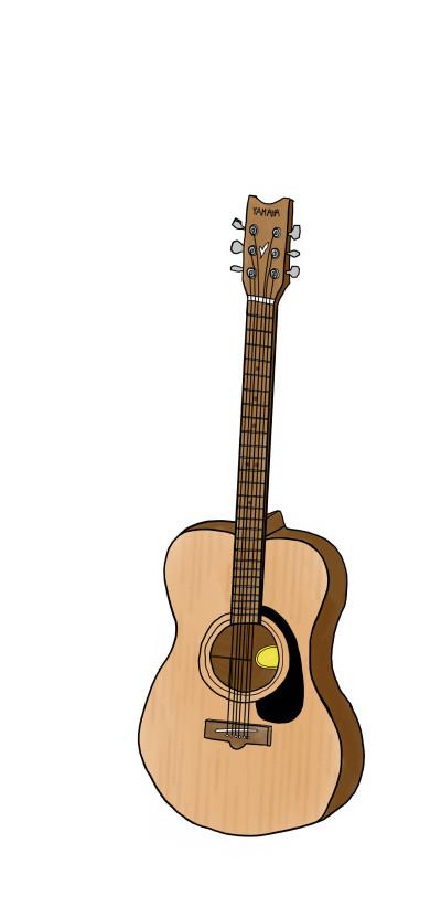 My poorly drawn guitar | Goldstein | Digital Drawing | PENUP