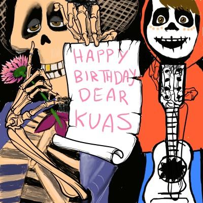 Happy Birthday Dear KUAS | J-O-C | Digital Drawing | PENUP