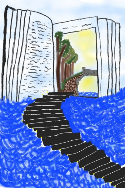 Stairway to inspiration | berry_boy | Digital Drawing | PENUP