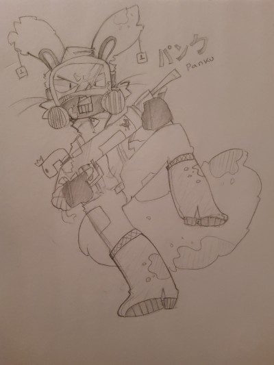 I drew my oc Panku   Bobiking   Digital Drawing   PENUP