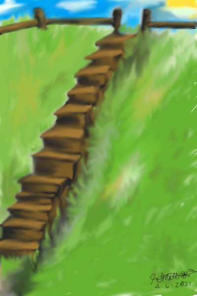 Country Climb | JeNn13 | Digital Drawing | PENUP