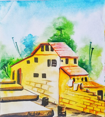 stairs to Home | Akashdip.M... | Digital Drawing | PENUP