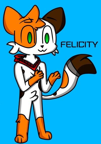 Felicity: My DTIYS-OC | Chipflake | Digital Drawing | PENUP