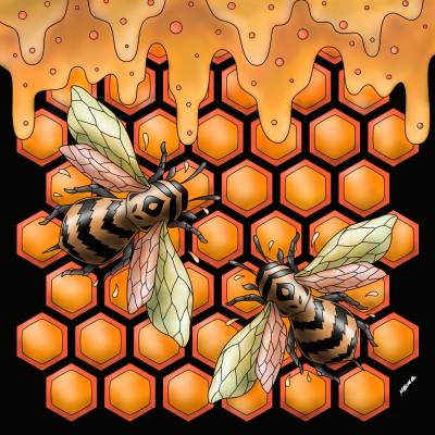Hive | Monica.Baumann | Digital Drawing | PENUP