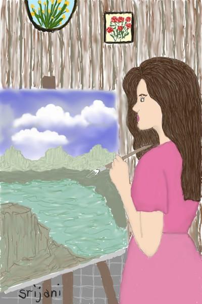 collab w/srijani   Rhonda   Digital Drawing   PENUP