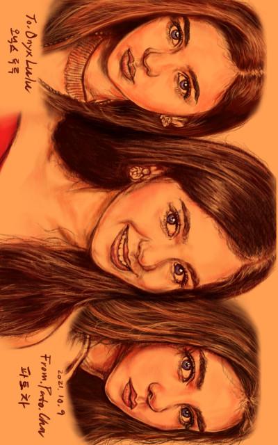 펜플 초상화 (@OnyxLulu 오닉스루루) SP | Pato.Cha | Digital Drawing | PENUP