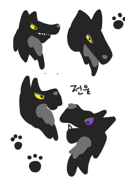 전울! | wolf_Queen | Digital Drawing | PENUP