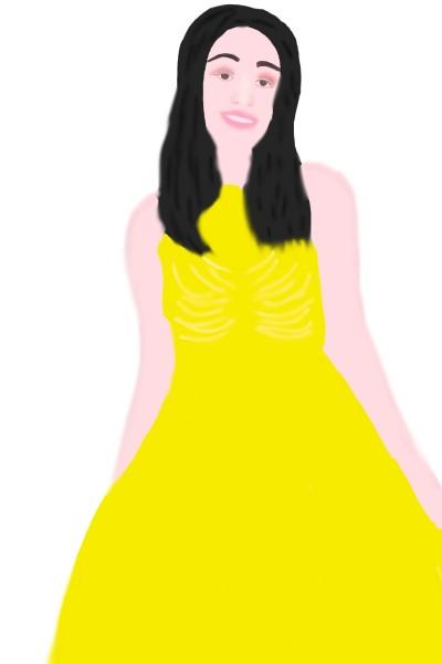 Portrait Digital Drawing   srijani   PENUP