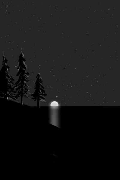 Feel the night quietness | AntoineKhanji | Digital Drawing | PENUP