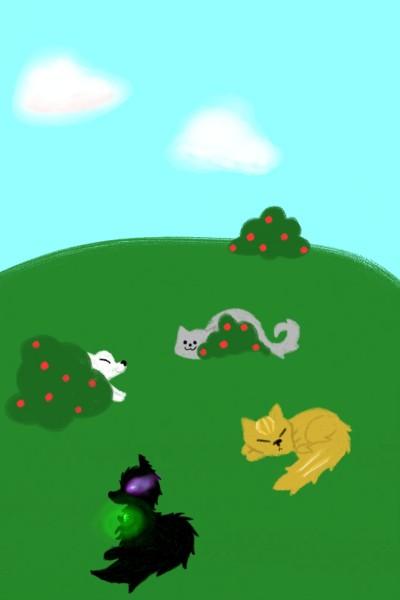 늑대4가족   cutyanimalser   Digital Drawing   PENUP