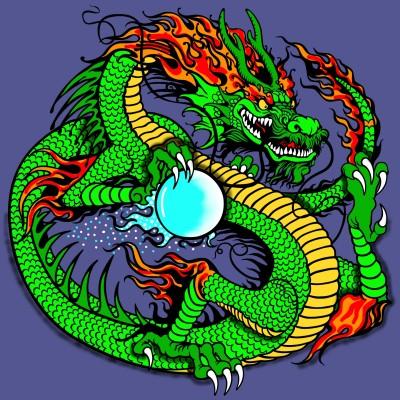 Dragon And His Dragon Ball | Bekkie | Digital Drawing | PENUP