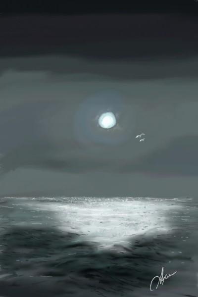 Night of dre**s | Ayca | Digital Drawing | PENUP