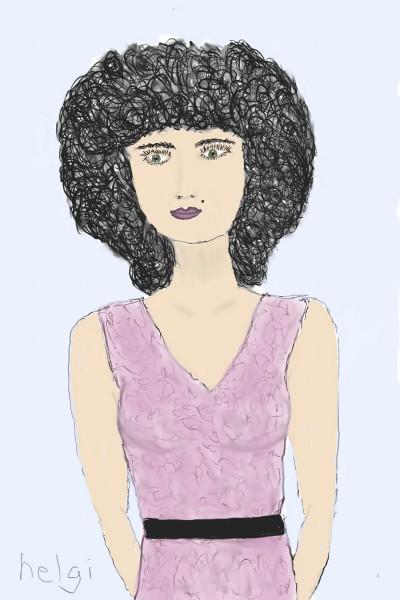 collab w/helgi   Rhonda   Digital Drawing   PENUP