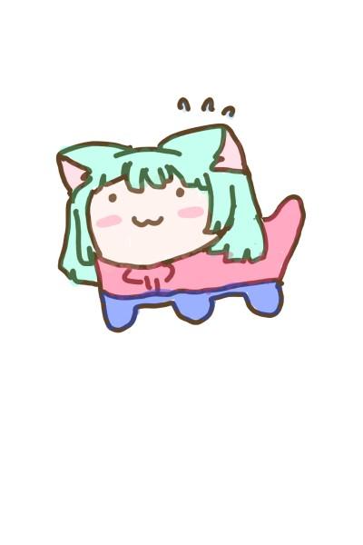 고양이가 되었다   jamie   Digital Drawing   PENUP